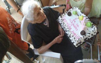 Γιαγιά ετών 114 στην Κρέστενα διεκδικεί θέση στο Γκίνες