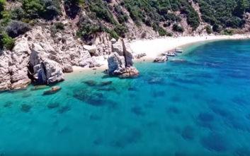 Ο άγνωστος παράδεισος της Χαλκιδικής