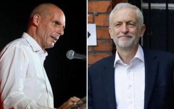 Οι άξονες συνεργασίας του ΜέΡΑ25 και του Εργατικού Κόμματος Βρετανίας