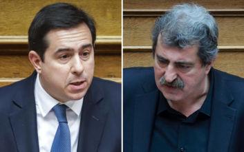 «Πλακώθηκαν» στη Βουλή Μηταράκης- Πολάκης για τη νέα δομή στη Μαλακάσα