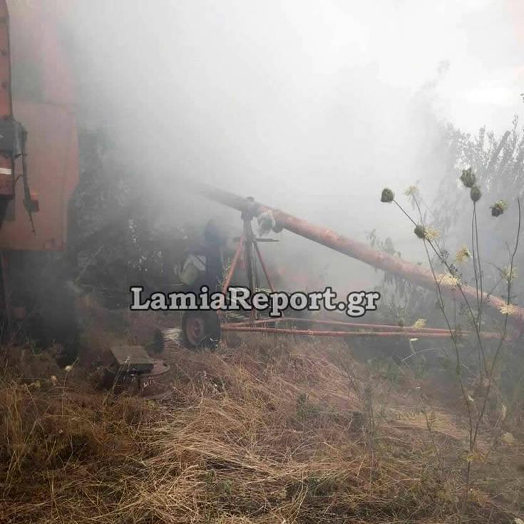 Αστυνομικοί της ΔΙΑΣ παλεύουν με κουβάδες να σβήσουν τις φλόγες – Newsbeast