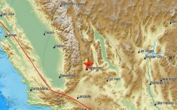 Σεισμός τώρα στην Καλιφόρνια