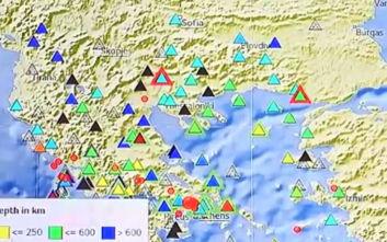 Ισχυρός σεισμός στην Αττική: Κλήσεις στην Πυροσβεστική για απεγκλωβισμούς από ασανσέρ