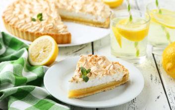 Δροσερή λεμονόπιτα
