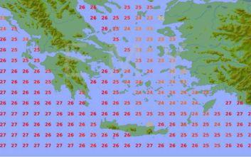 Καιρός: Η θερμοκρασία της θάλασσας σε κάθε περιοχή της Ελλάδας