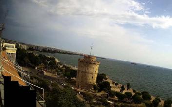 Εικόνες από την επέλαση της κακοκαιρίας στη Θεσσαλονίκη