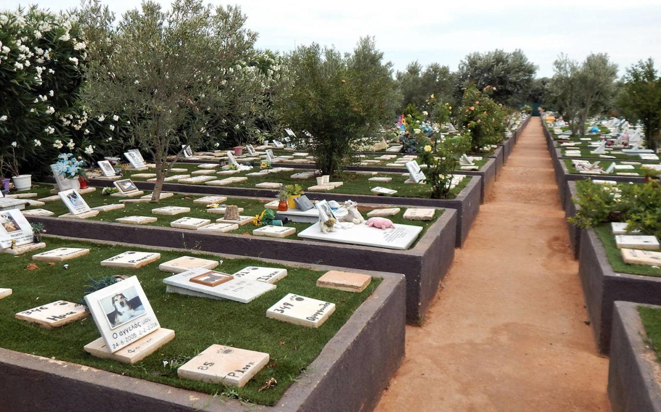 Τα νεκροταφεία σκύλων και άλλων κατοικιδίων στην Αττική