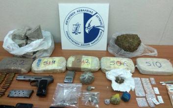 Εξαρθρώθηκε κύκλωμα που διακινούσε ναρκωτικά στην Αττική