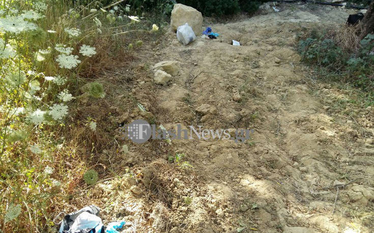 Το καλά κρυμμένο σημείο όπου βρέθηκε η σορός της Αμερικανίδας βιολόγου στα Χανιά