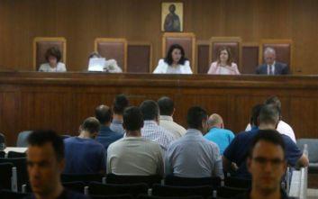 Δίκη Χρυσής Αυγής: Ένταση μετά την απολογία του πυρηνάρχη Νίκαιας