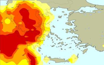 Καιρός: Ο Αντίνοος σε χάρτες, ποιες περιοχές θα επηρεαστούν περισσότερο