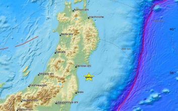 Ισχυρός σεισμός τώρα στη Φουκουσίμα