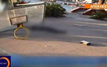 Δικαιοσύνη ζητά ο πατέρας του 19χρονου που καταπλακώθηκε από μπασκέτα στη Χίο