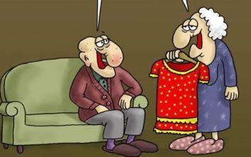Το νέο σκίτσο του Αρκά: «Αγόρασα καινούριο φόρεμα»