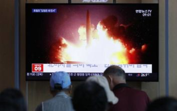 Η Βόρεια Κορέα εκτόξευσε αγνώστων στοιχείων βλήμα