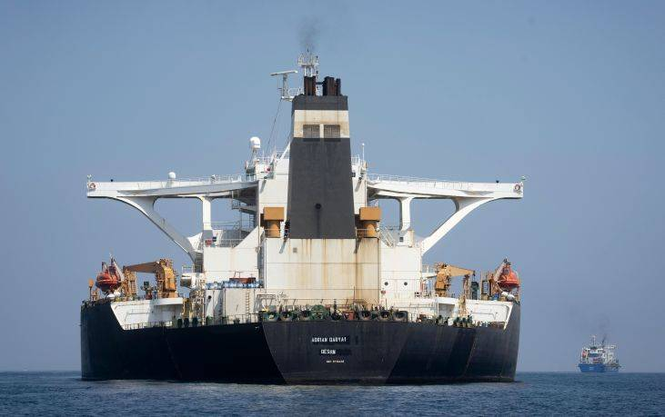 Το Ιράν δηλώνει έτοιμο να συνοδεύσει το δεξαμενόπλοιο Adrian Darya στον Κόλπο