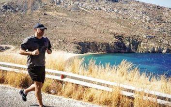 Ο Βασίλης Κικίλιας πήγε για τρέξιμο και ανέβασε φωτογραφία του στο Instagram