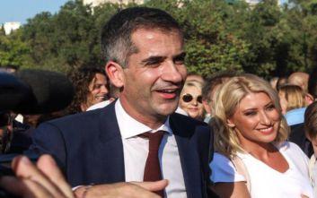 Εικόνες από την ορκωμοσία του δημάρχου Αθηναίων, Κώστα Μπακογιάννη