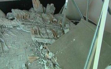 Παραλίγο τραγωδία, οροφή καταπλάκωσε άντρα