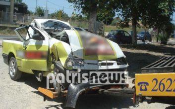 Αμαλιάδα: Έκλεψε αυτοκίνητο, τράκαρε και νοσηλεύεται