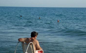 Η πρόσβαση στη θάλασσα της Κουρούτας είναι πλέον εφικτή και για τα ΑΜΕΑ