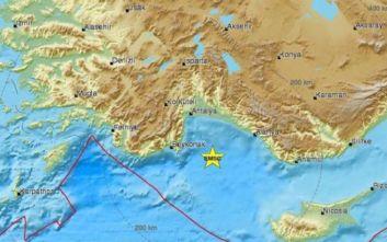 Σεισμός ανατολικά του Καστελόριζου