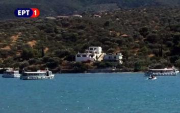 Συντριβή ελικοπτέρου μεταξύ Πόρου και Γαλατά: Επέβαιναν ένας Έλληνας και δύο Ρώσοι