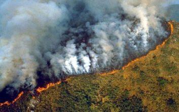 Χείρα βοηθείας από τον Τραμπ στον Μπολσονάρου για τις φωτιές στον Αμαζόνιο