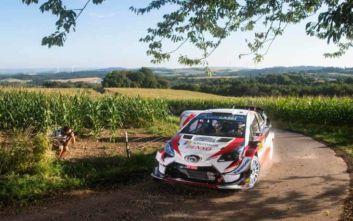 WRC: Φουλ της Toyota στο βάθρο του ΡάλιΓερμανίας 2019