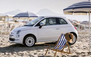 Tο καλοκαίρι από την οροφή του Fiat 500c