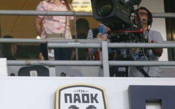 Από την PAOK TV η μετάδοση του ΠΑΟΚ-Παναιτωλικός