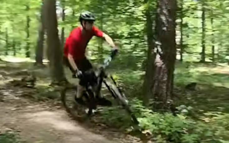 Η οδήγηση ποδηλάτου έχει και άσχημες στιγμές
