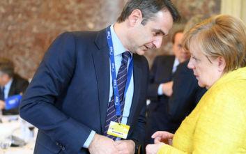 Σε τι προσβλέπει το Βερολίνο από την αυριανή συνάντηση Μέρκελ – Μητσοτάκη
