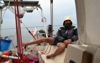 Ο 27χρονος Χανιώτης που κάνει τον γύρο του κόσμου με ιστιοπλοϊκό