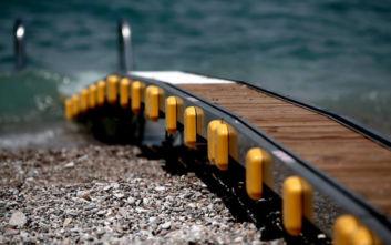 Δύο ράμπες πρόσβασης ΑΜεΑ στη θάλασσα τοποθετήθηκαν στην Κεφαλονιά