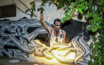 Βανδάλισαν ξανά το γκράφιτι του Γκάλη στην Αθήνα