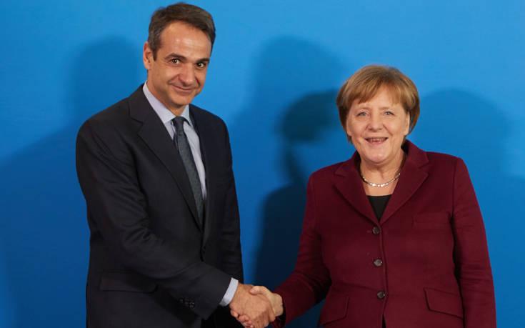 Mε στρατιωτικές τιμές θα γίνει δεκτός ο Μητσοτάκης στη Γερμανία
