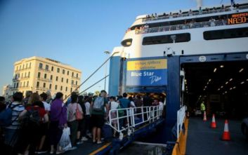 Αυξημένη η κίνηση στα λιμάνια λόγω της μεγάλης καλοκαιρινής εξόδου
