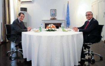 Ολοκληρώθηκε η συνάντηση Αναστασιάδη-Ακιντζί
