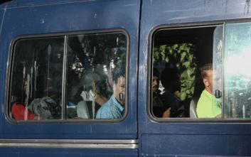 Φωτογραφίες από την έφοδο της ΕΛ.ΑΣ. σε υπό κατάληψη κτίρια στα Εξάρχεια