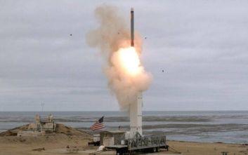 Σε δοκιμή συμβατικού πυραύλου μέσου βεληνεκούς προχώρησαν οι ΗΠΑ