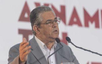 Κουτσούμπας: «Ένα ατύχημα μπορεί να μας οδηγήσει σε θερμό επεισόδιο με την Τουρκία»