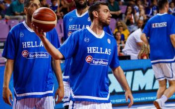 Εθνική μπάσκετ: Και επίσημα Μάντζαρης αντί Αθηναίου στην αποστολή
