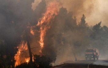 Πυρκαγιά ξέσπασε στα Κύθηρα