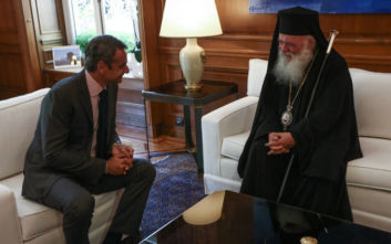 Οι σχέσεις Εκκλησίας-Κράτους στο επίκεντρο της συζήτησης Ιερώνυμου - Μητσοτάκη