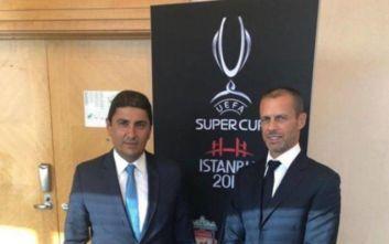 Συνάντηση Αυγενάκη-Τσέφεριν: Η UEFA αρωγός στις πρωτοβουλίες της αθλητικής ηγεσίας
