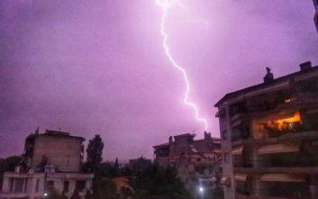 Καλοκαίρι με κεραυνούς σε Ξάνθη, Κομοτηνή και Αλεξανδρούπολη