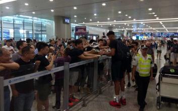 Εθνική μπάσκετ: Αποθέωση για τους διεθνείς στη Σανγκάη