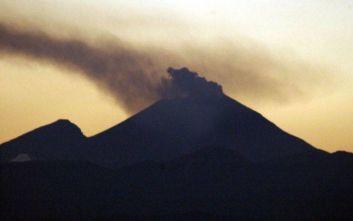 Ξύπνησε ηφαίστειο στην Ιαπωνία