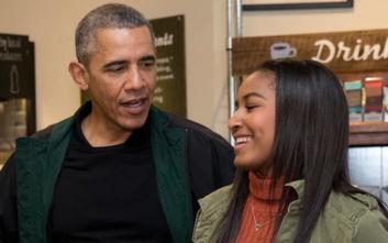 Η Σάσα Ομπάμα μεγάλωσε και είναι πια φοιτήτρια στο πανεπιστήμιο του Μίσιγκαν